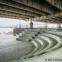 Staircase, Louisville river walk, Лоуисвилл