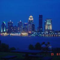 Louisville Skyline at twilight, Лоуисвилл