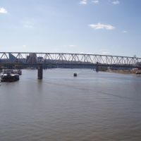 Ohio River from the Purple People Bridge, Ньюпорт