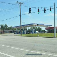 Marathon Fuel Station, West Walnut Street, Lebanon, Kentucky, Ракеланд
