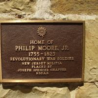 Placard on Philip Moore House, Саут-Шор