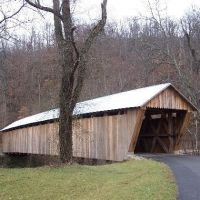 Bennets  Mill Covered Bridge, Greenup County, Kentucky, Саут-Шор