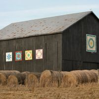Quilt Barn - multiple panels - Sebree Road, Стампинг-Граунд