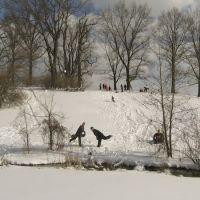 Seneca Golf Course after a snowfall, Стратмур-Гарденс