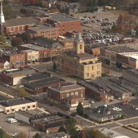 Springfield, Tennessee Downtown Aerial View, Трентон