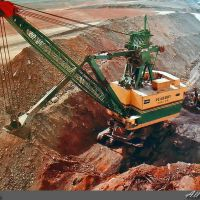 Peabody Coal - River Queen Surface Mine (Marion 5960-M Power Shovel), Трентон