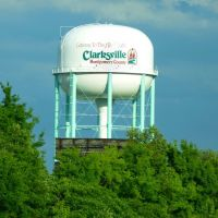 Clarksville Tennessee water tower, Трентон