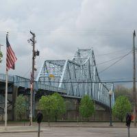 Ironton-Russell Bridge, Ohio River, Флатвудс