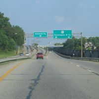 US 52 East exit from Coal Grove, Ohio, to Ashland, Kentucky, Флатвудс