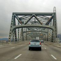 2010 I-75S enter bridge to Covington, Ky, Форт-Митчелл