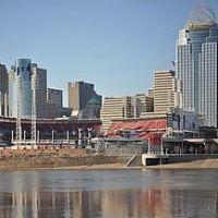 Cincinnati skyline, Форт-Митчелл