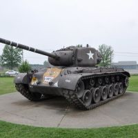 "M26 Pershing ""tiger face"" at Patton Museum, Форт-Нокс"