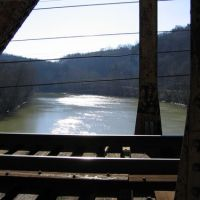 Kentucky river from rail bridge, Франкфорт
