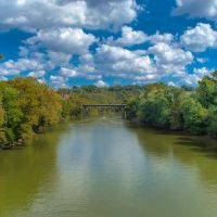 Kentucky River - Frankfort, Kentucky, Франкфорт