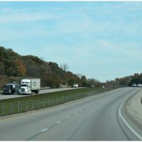 From Bowling Green on I65 North - Kentucky - USA, Хорс-Кейв
