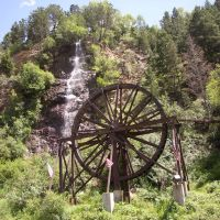 Charlie Tayler Water Wheel, Idaho Springs, CO, Айдахо-Спрингс