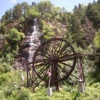 Charlie Tayler Water Wheel, Idaho Springs, CO, Айдахо-Спрингс