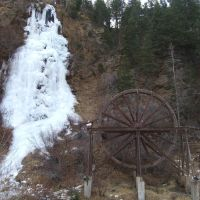 Bridal Veil Falls and Charlie Tayler Water Wheel 2005, Айдахо-Спрингс