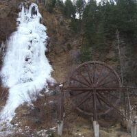 Bridal Veil Falls and Charlie Tayler Water Wheel 2005, Айдахо-Спрингс