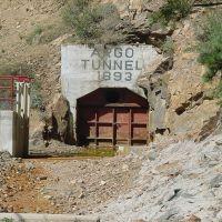 Entrance to the Argo Tunnel, Айдахо-Спрингс
