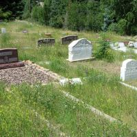 Colorado: Tombstones - a burial of a descendant of Italian immigrants, Айдахо-Спрингс