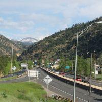 I-70 at S.R. 103, Idaho Springs, Colorado, Айдахо-Спрингс