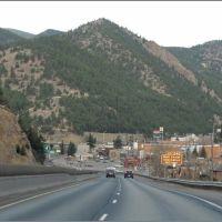 Roadtrip I70 West from Denver - Colorado - USA, Айдахо-Спрингс