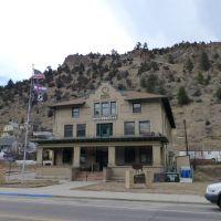 Idaho Springs, old building, Айдахо-Спрингс