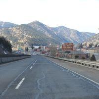 Approaching Idaho Springs, Айдахо-Спрингс