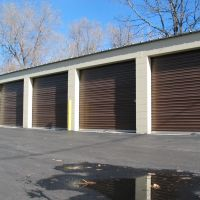 Drive up storage units at National Self Storage, Арвада