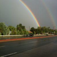 Rainbow over Boulder, Аурора