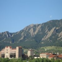 Boulder view from Marriott, Аурора