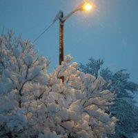 Snow. October 2009., Аурора