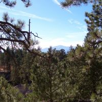 Pikes Peak from Taylor Memorial Chapel, Блэк-Форест
