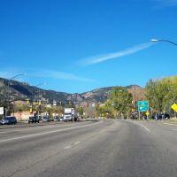 Broadway Avenue,Boulder,Colorado,USA, Боулдер