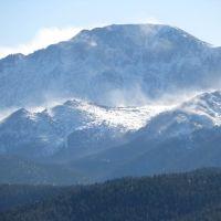 Snow Blowing on Pikes Peak, Вудленд-Парк