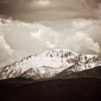 Pikes Peak on a Cloudy Day!, Вудленд-Парк