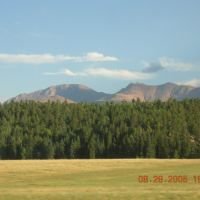 Pikes Peak from Woodland Park, Вудленд-Парк