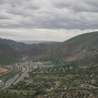 View from Glenwood Springs Tram, Гленвуд-Спрингс