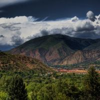 Glenwood Springs from Doc Holliday gravesite trail, Гленвуд-Спрингс