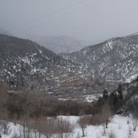 Glenwood Springs from Red Mountain, Гленвуд-Спрингс