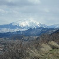 Mount Sopris from Red Mountain, Гленвуд-Спрингс