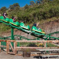 Wild West Express roller coaster, Гленвуд-Спрингс