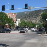 Grand Ave, Glenwood Springs, CO, Гленвуд-Спрингс