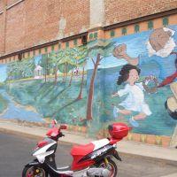 building mural, Greeley, CO, Грили