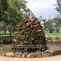 The Pioneer Fountain, Greeley, CO, Грили