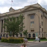 Weld County courthouse, Greeley, CO, Грили