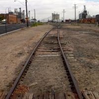 Rail track close to 7th Ave - Greeley CO, Грили