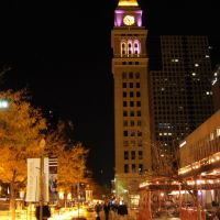 Daniels and  Fisher Tower, 16th Street Mall, Commonly Referred to as the D&F Tower by Denver Locals, Денвер