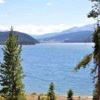 Dillon Lake from Dillon Marina Park, Диллон
